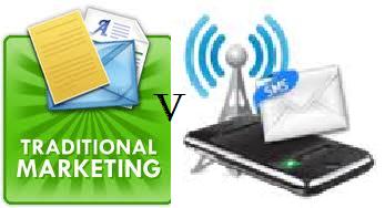 SMS Marketing v Traditional Marketing