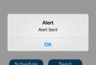 Mobile App Alert Sent