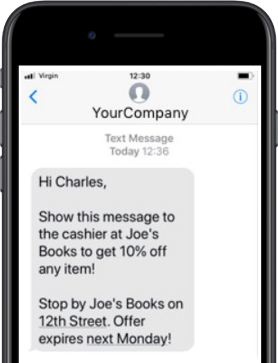 Send Texts Using Your Company Name
