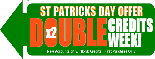 St Patrick's Day Bulk Text Offer