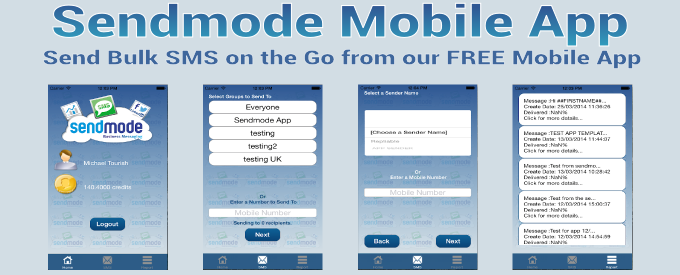 Bulk Text App from Sendmode