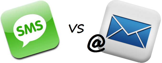 sms versus email marketing