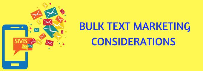 Bulk text