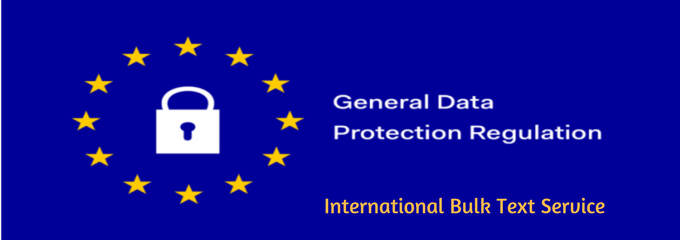 GDPR International Bulk text services