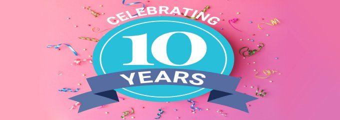 Sendmode Bulk Text Celebrating 10 years