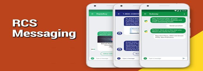rcs messaging, rich content sms